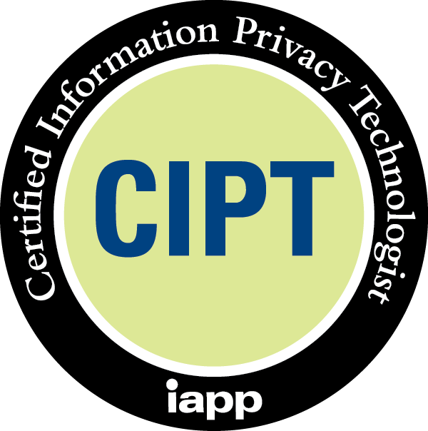 CIPT – Certified Information Privacy Technologist